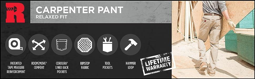 Wrangler RIGGS Workwear Carpenter Pant