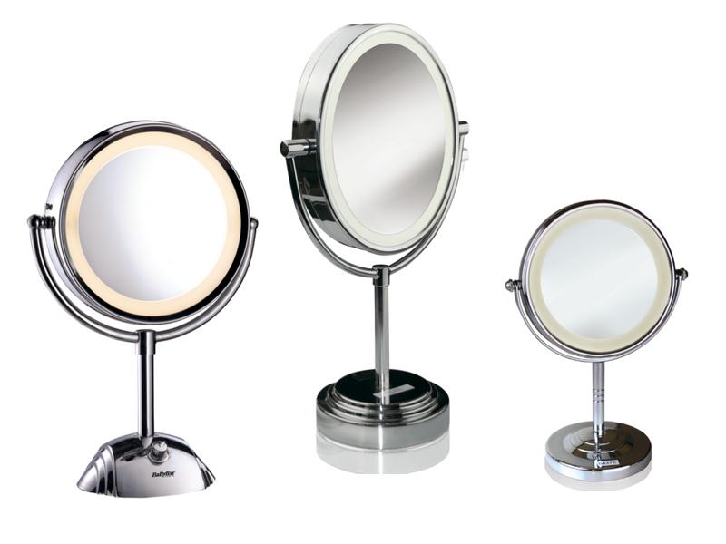 Babyliss 8435e specchio luminoso rotondo ingrandimento x 5 salute e cura della persona - Specchio babyliss 8438e ...