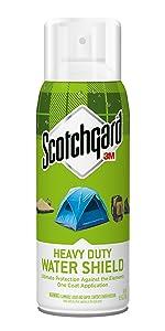 Heavy Duty, Water Shield, Scotchgard