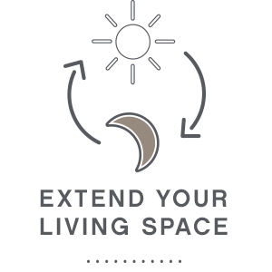 extend living space