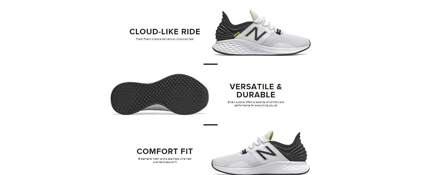 841e129eff New Balance Men's Roav V1 Fresh Foam Running Shoe