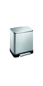 EKO; e-cube; rubbish; garbage; trash; waste; can; bin; step; kitchen; bathroom; laundry; office