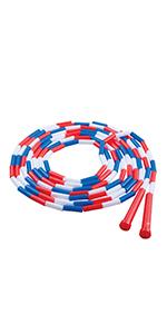 Champion Sports Plastic Segmented Jump Rope, 16'