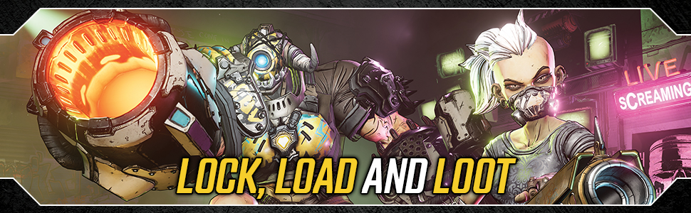 Borderlands 3 with 5 Gold Keys DLC (Exclusive to Amazon.co