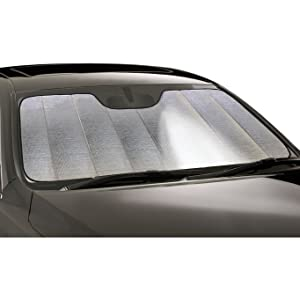 Silver Intro-Tech FD-76-R Ultimate Reflector Custom Fit Folding Windshield Sunshade for Select Ford Ranger Models