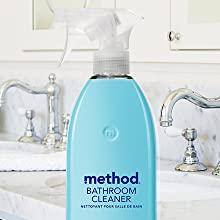 antibacterial cleaner, bathroom cleaner