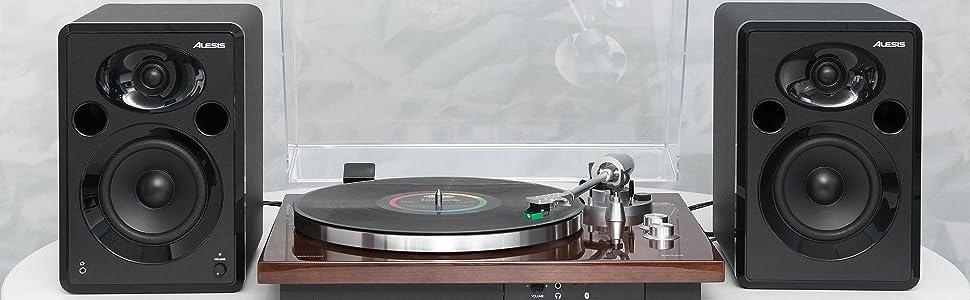 ION Audio PRO500BT - Giradiscos de Transmisión de Correa Premium ...