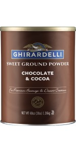 Ghirardelli Chocolate & Cocoa sweet ground
