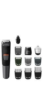 philips series 3000 6 in 1 grooming kit for face beard mg3710 13 health. Black Bedroom Furniture Sets. Home Design Ideas