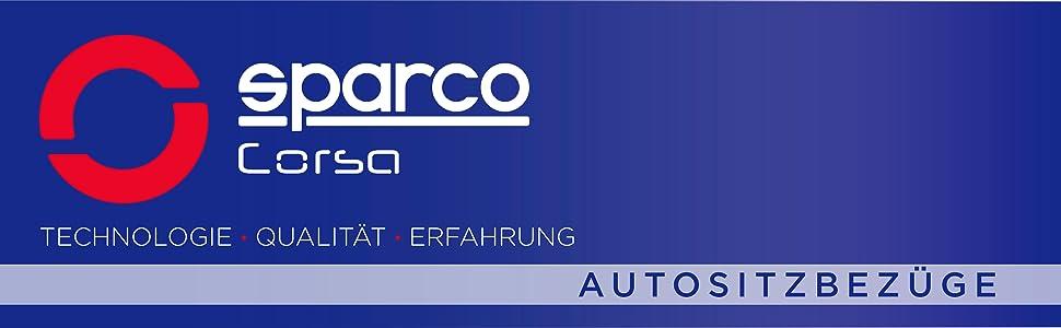 Modell S-LINE Set of 2 SPARCO SPC1018GR Sitzbez/üge Grau