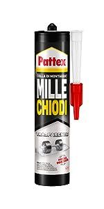 millechiodi kiwi nuovo formato facile adesivo di montaggio pattex