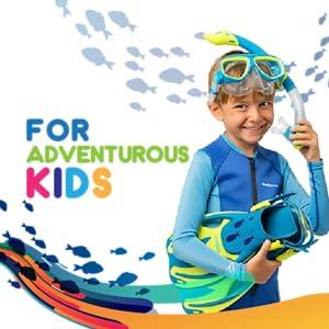 snorkeling set for kids