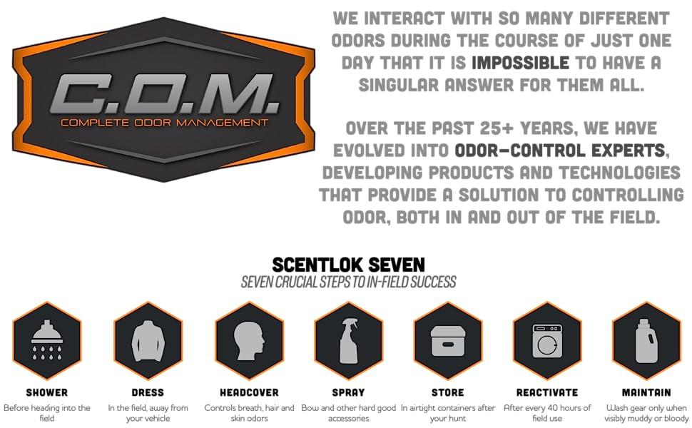 seven, scentlok, odor