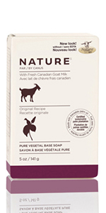 Nature by Canus, Fresh Canadian Goat Milk Pure Vegetal Base Soap,Original Recipe ...