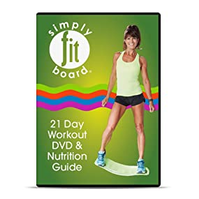 Amazon Com Simply Fit Board Workout Dvds 21 Day