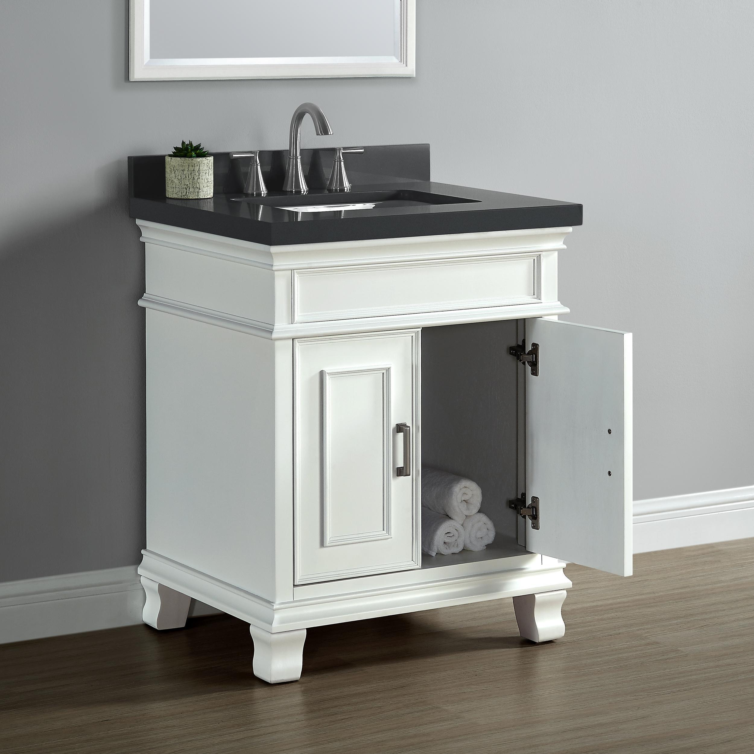 "Linon Mission Hills Vanity Set: Amazon.com: Mission Hills 28"" Single Sink Middleton Vanity"