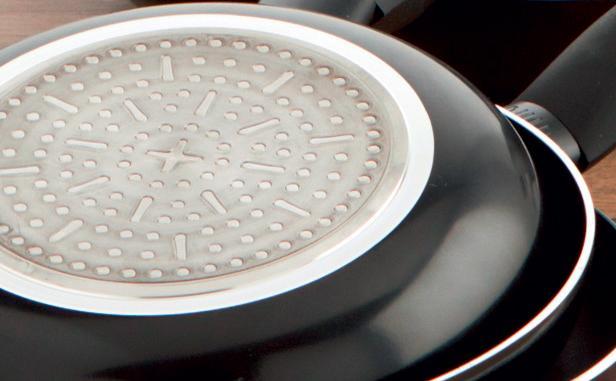 Quid Hydra - Sartén de aluminio con inducción, 20 cm, Antiadherente, Sin PFOA