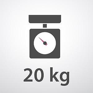 Pese al gramo hasta 20 Kg