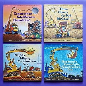 Goodnight Goodnight Construction Site Mighty Mighty Steam Train Dream Train Christmas Night Kid Book