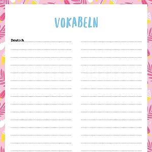 Schülerkalender 2018/2019: von Leni Marie: Amazon.de