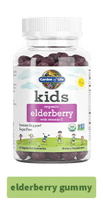 elderberry gummy kids