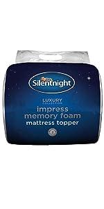 Silentnight Airmax Mattress Topper White Double Amazon