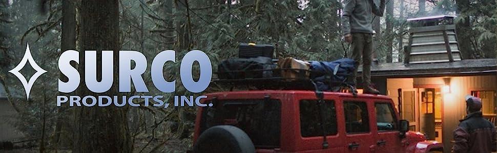 Surco Products Inc American Made Jeep Roof Racks Van RV Baskets Ladders Bike Racks Deck Racks