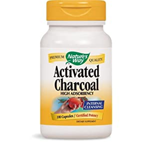 Incredible Natures Way Charcoal Activated 560 Mg Charcoal Per Serving 100 Capsules Packaging May Vary Short Links Chair Design For Home Short Linksinfo