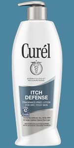 Curel itch defense lotion dry itchy skin end dry skin eczema eczema-prone skin eczema relief