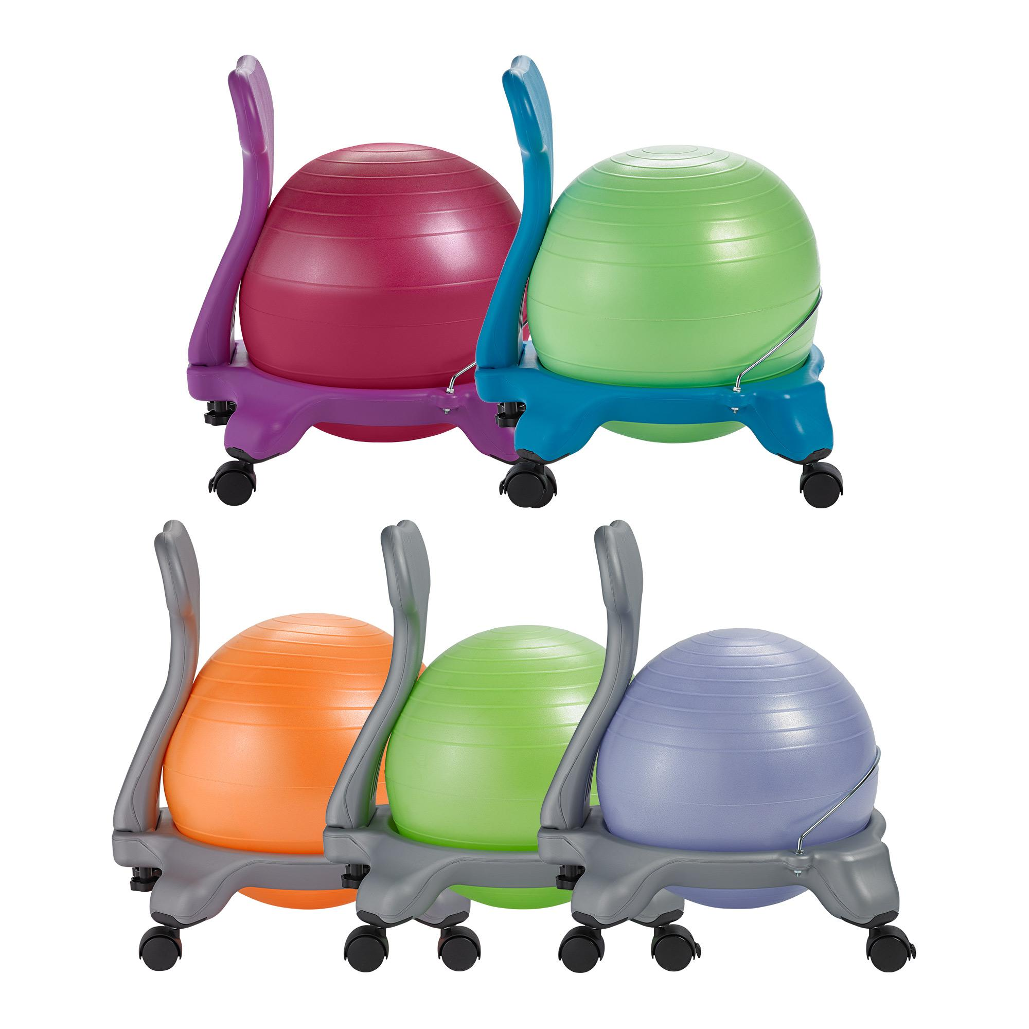 gaiam kids balance ball chair classic. Black Bedroom Furniture Sets. Home Design Ideas