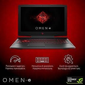 HP OMEN Laptop Gaming 15-ce029nl