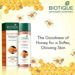 Biotique Bio Honey Gel Refreshing Foaming Face Cleanser 120ml