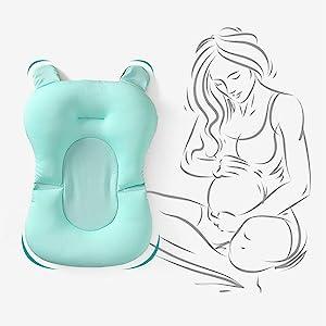 Babify - Cuscino riduttore per vasca da bagno.