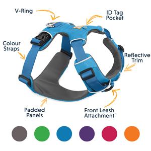 Ruffwear All Day Adjustable Harness Front Range Harness Xs Pet Supplies