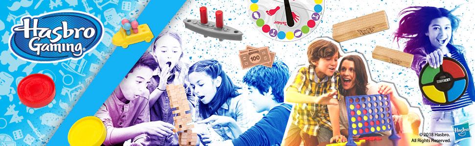 Hasbro Gaming - Tabú, Juego de Dados (versión en alemán