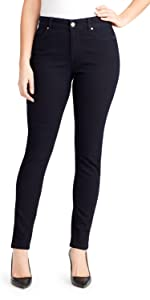 Bandolino bleu apparel Mandie skinny stretch denim jeans