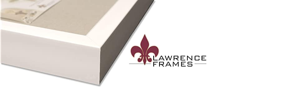 lawrence frames white shadow box frame with linen display board - Shadow Box Frames