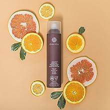citrus orange hair spray moisture moisturizing quench leave in conditioner oil dry hair damaged