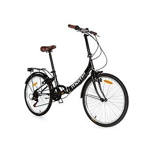 Moma bicicleta plegable ruedas 24 shimano aluminio