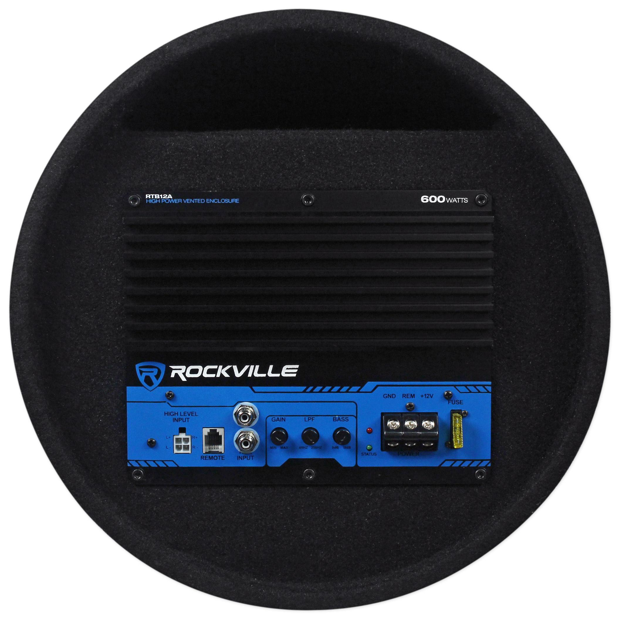 "Amazon.com: Rockville RTB12A 12"" 600w Powered Subwoofer"