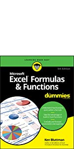 excel 2019, excel formulas, excel functions, dummies