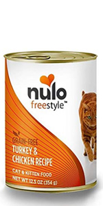 Freestyle Canned Wet Cat Food - Turkey and Chicken