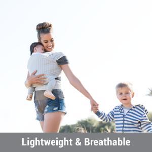 Amazon Com Ergobaby Aura Baby Wrap Ergonomic Indigo Baby