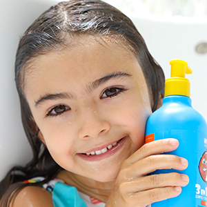 HOW TO USE KIDS 3-IN-1 SWEET ORANGE TIP TO TOE WASH STEP3