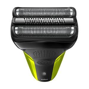 Braun Series 3 300 Afeitadora Eléctrica, Maquinilla para Hombre con 3 Láminas Flexibles, Recargable, Inalámbrica, Lavable, Color Negro/Verde: Amazon.es: Salud y cuidado personal