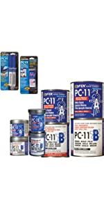 PC Products PC-7 Two-Part Heavy Duty Multipurpose Paste Epoxy · PC Products PC-11 Two-Part Marine Epoxy Adhesive Paste · PC Products PC-SuperEpoxy Epoxy ...