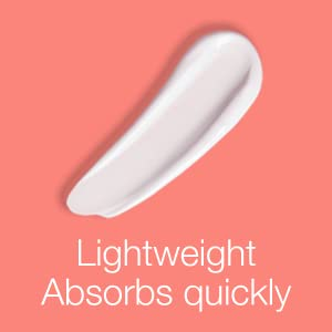 Lightweight & Absorbs Quickly