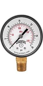 pressure gauges, economy gauges, air gauges, water gauges