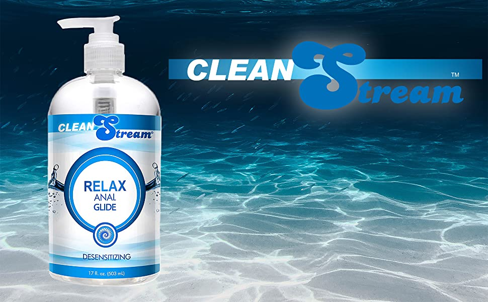 clean stream pain relief numbing lidocaine slippery slick butt desensitizing