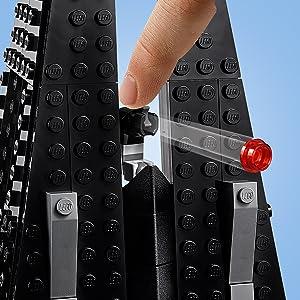 LEGO Star Wars Darth Vader's Castle set!